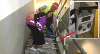 RIVA Management muss illegale Überwachungskameras vor den Betriebsratsbüros abschalten